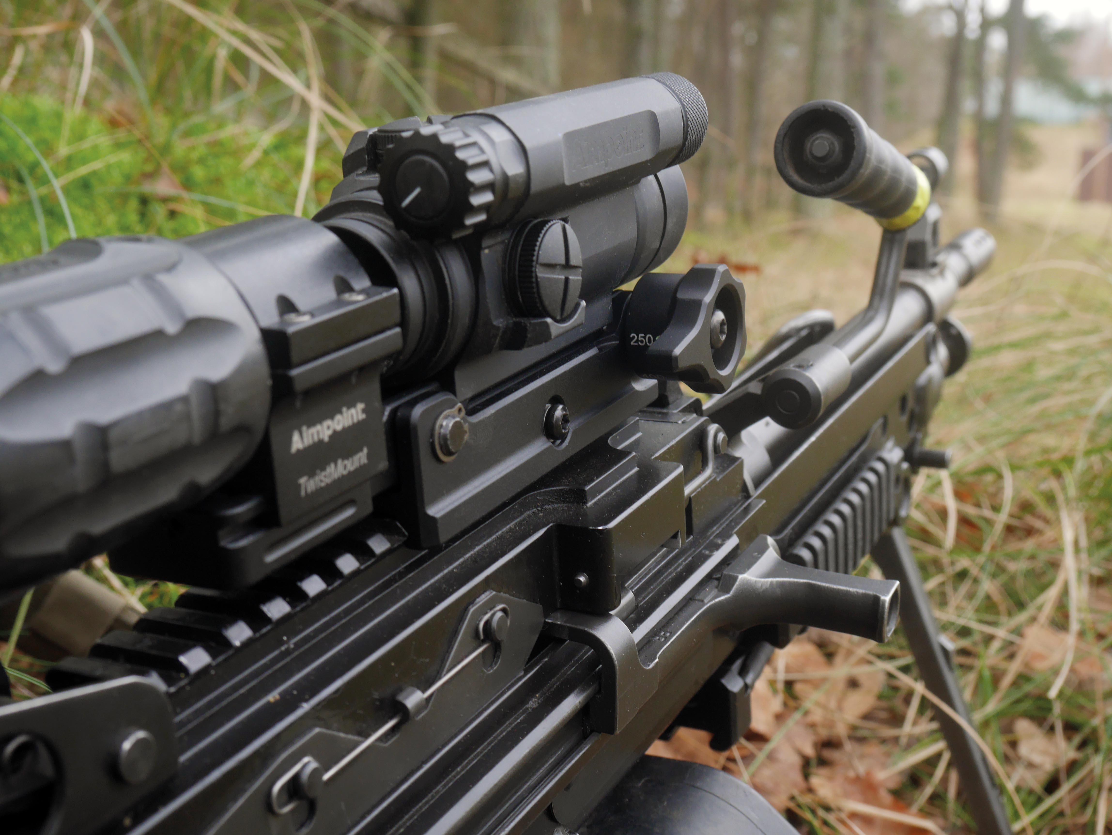 sphur BAM B.A.M. machine gun optic mount