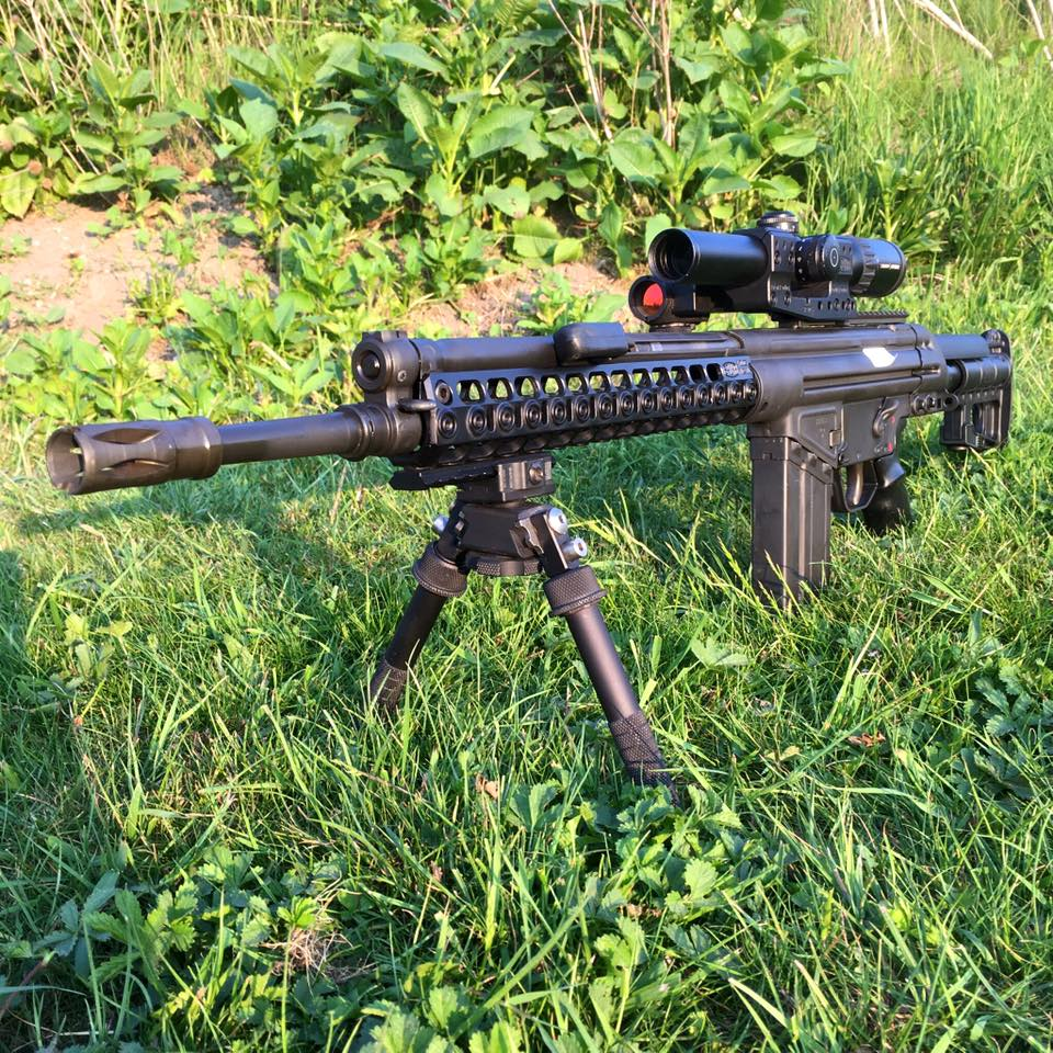 Modern Battle Rifle after major Spuhr upgrades