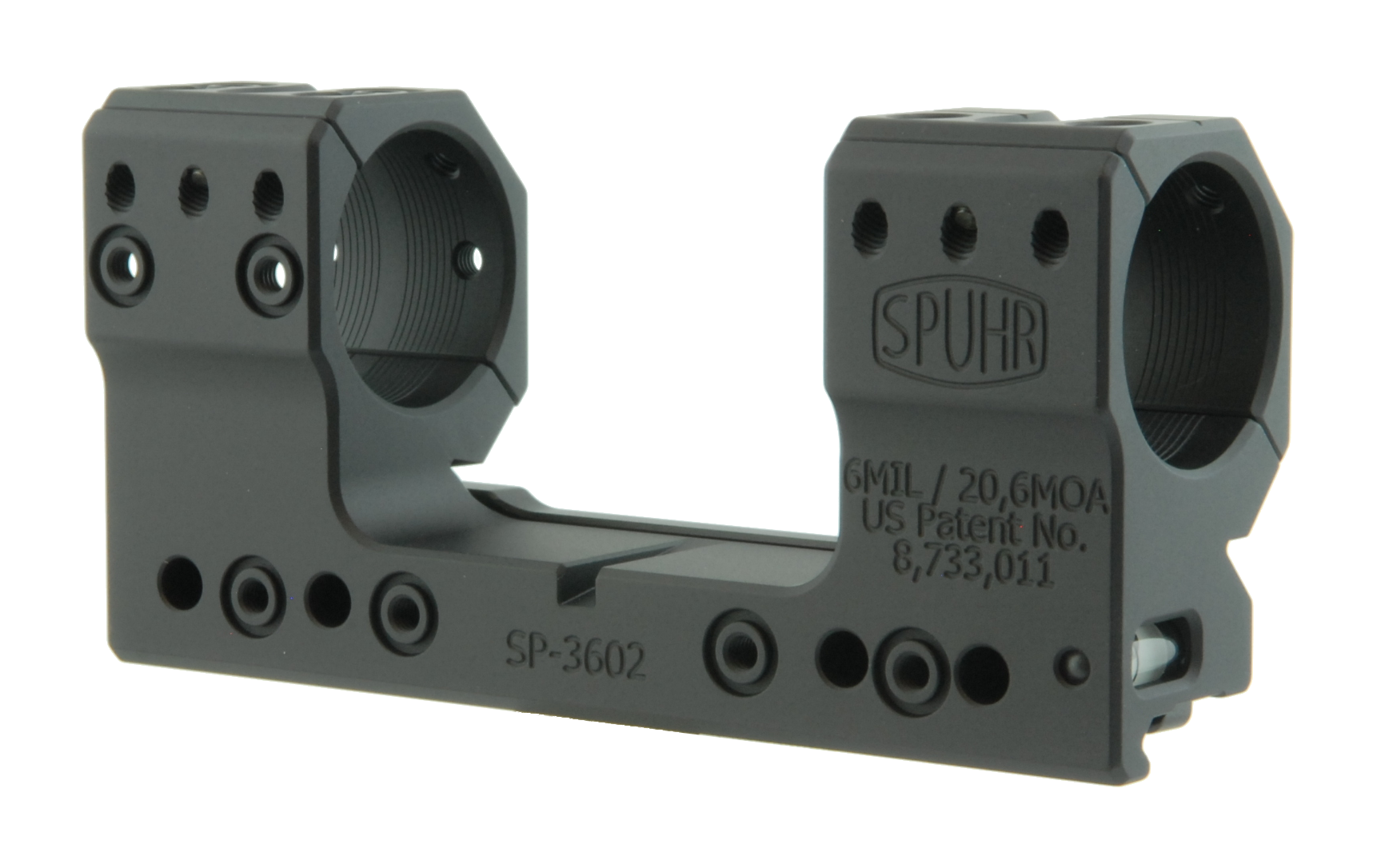 "SP-3602 Scope Mount Ø30 H38mm/1.5"" 6MIL PIC"