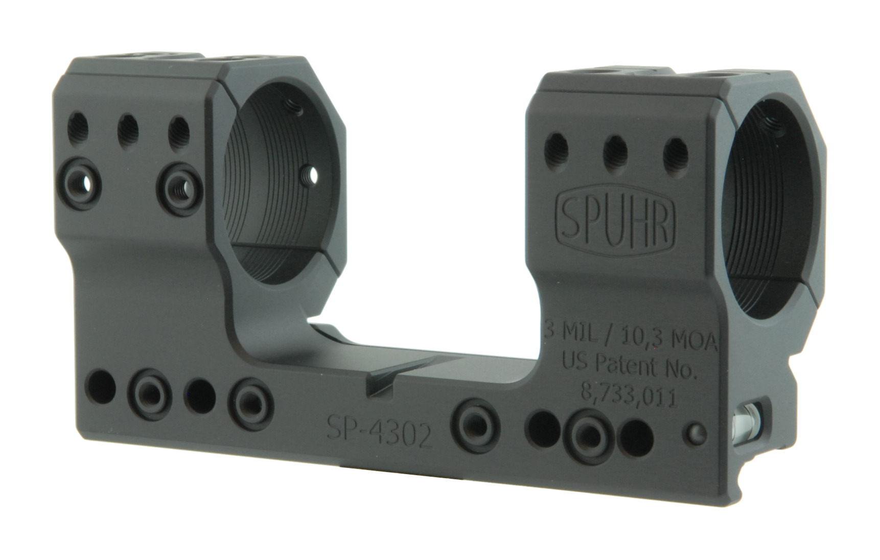 "SP-4302 Scope Mount Ø34 H38mm/1.5"" 3MIL PIC"