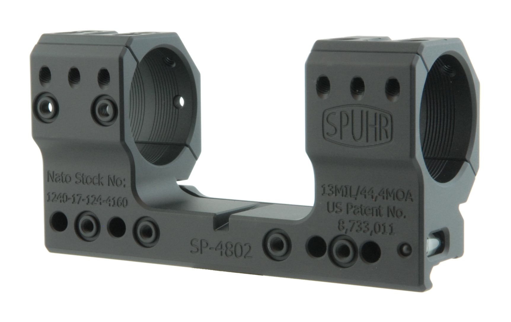 "SP-4802 Scope Mount Ø34 H38mm/1.5"" 13MIL PIC"