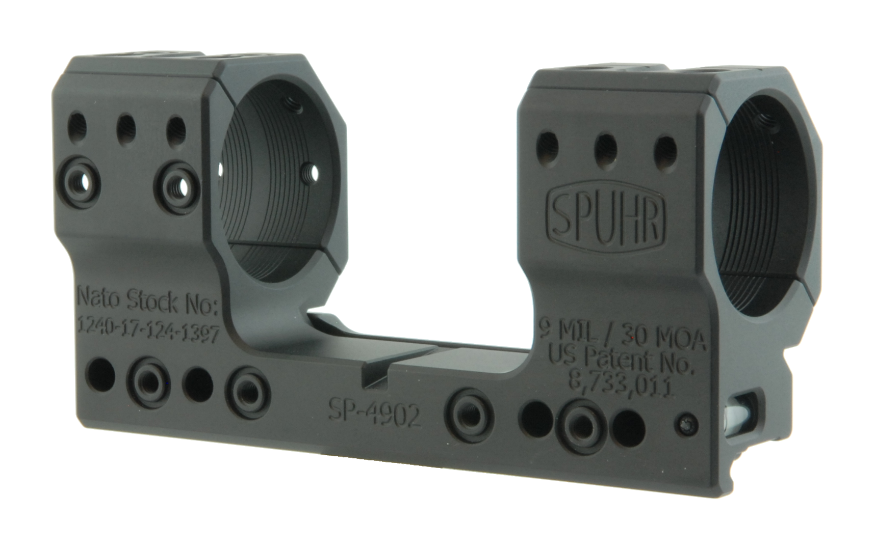 "SP-4902 Scope Mount Ø34 H38mm/1.5"" 9MIL PIC"