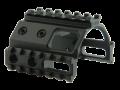 A-0090 Picatinny Tri-Rail, Short