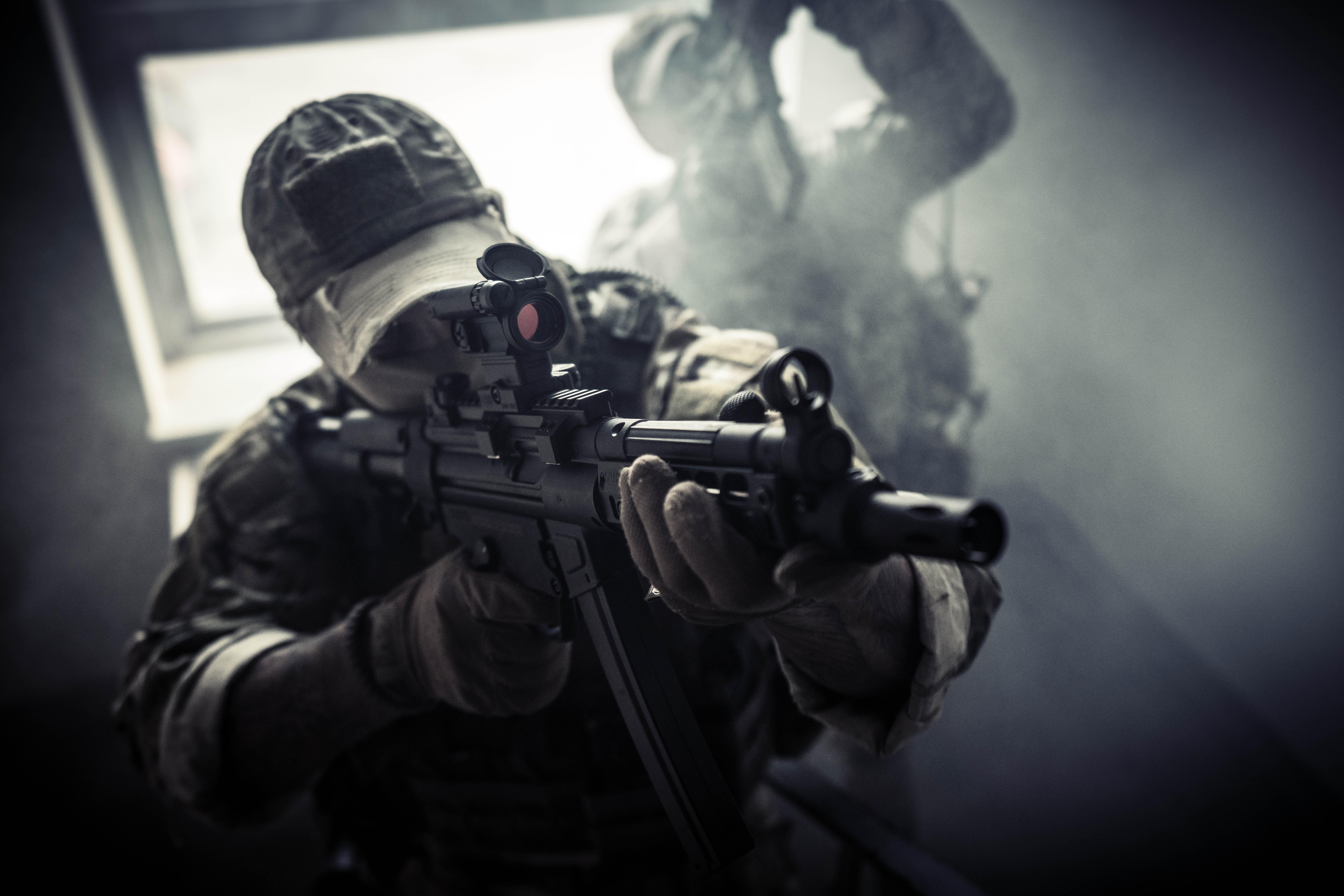MP5-operator